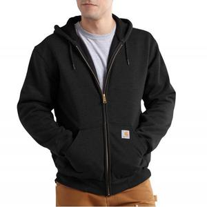 Carhartt Men's Rain Defender Rutland Thermal-Lined Hooded Zip-Front Sweatshirt 100632
